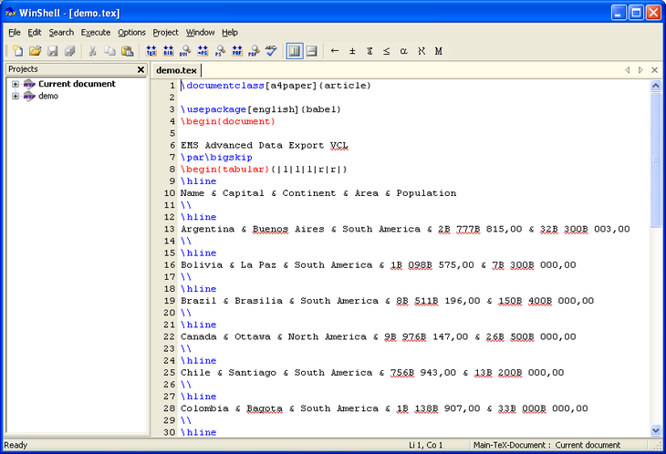 EMS Advanced Data Export VCL Screenshot